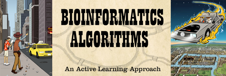 Bioinformatics Algorithms: An Active Learning Approach